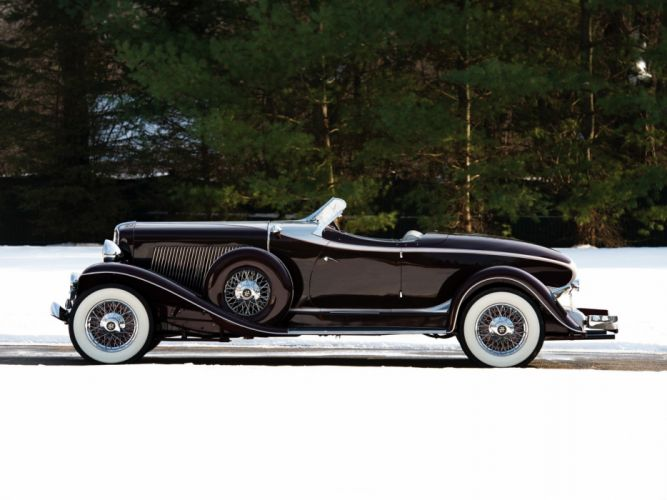 1934 Auburn V12 1250 Salon Dual Ratio Boattail Speedster wallpaper