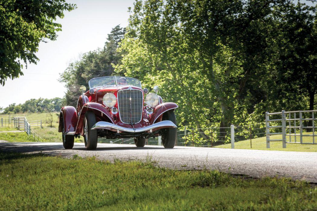 1934 Auburn V12 1250 Salon Dual Ratio Boattail Speedster wallpaper