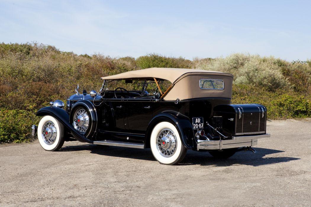 1932 Packard Standard Eight Sport Phaeton 902-521 luxury retro vintage wallpaper