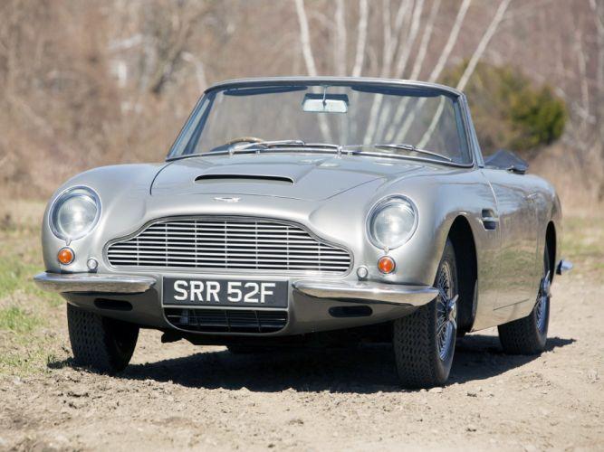 1965-69 Aston Martin DB6 Vantage Volante classic wallpaper