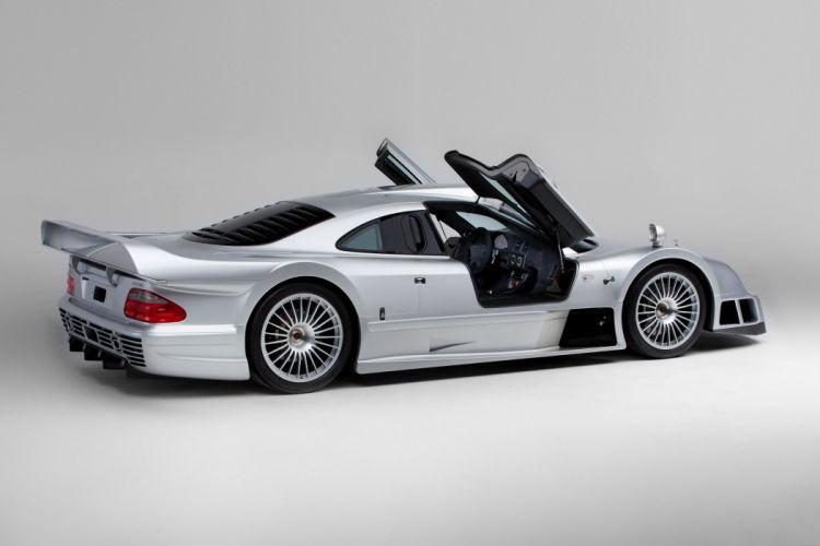 1997-99 Mercedes Benz CLK GTR AMG Coupe Strassenversion supercar race racing wallpaper