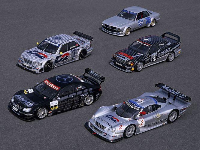 Mercedes Benz CLR race racing grand prix supercar wallpaper