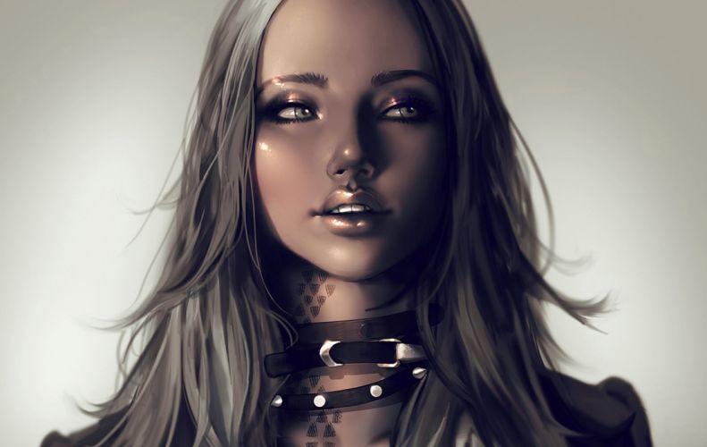 women woman female model girl girls mood artistic artwork art wallpaper
