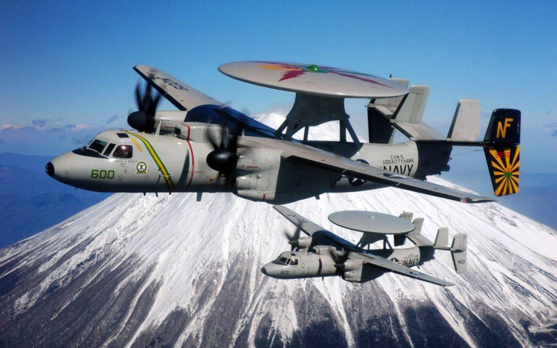 e2c haweye avion radad militar wallpaper