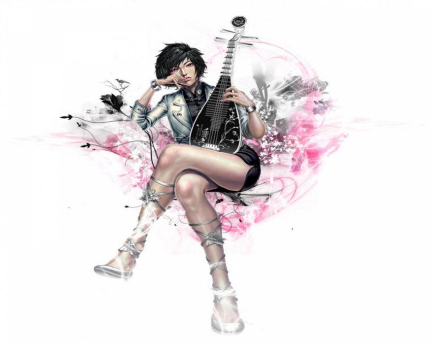 women woman female model girl girls mood artistic artwork art fantasy wallpaper