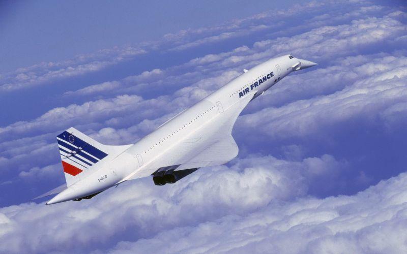 avion concorde civil francia wallpaper