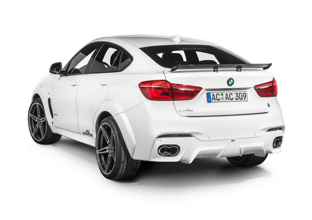AC Schnitzer bmw X6 M falcon cars suv white modified wallpaper