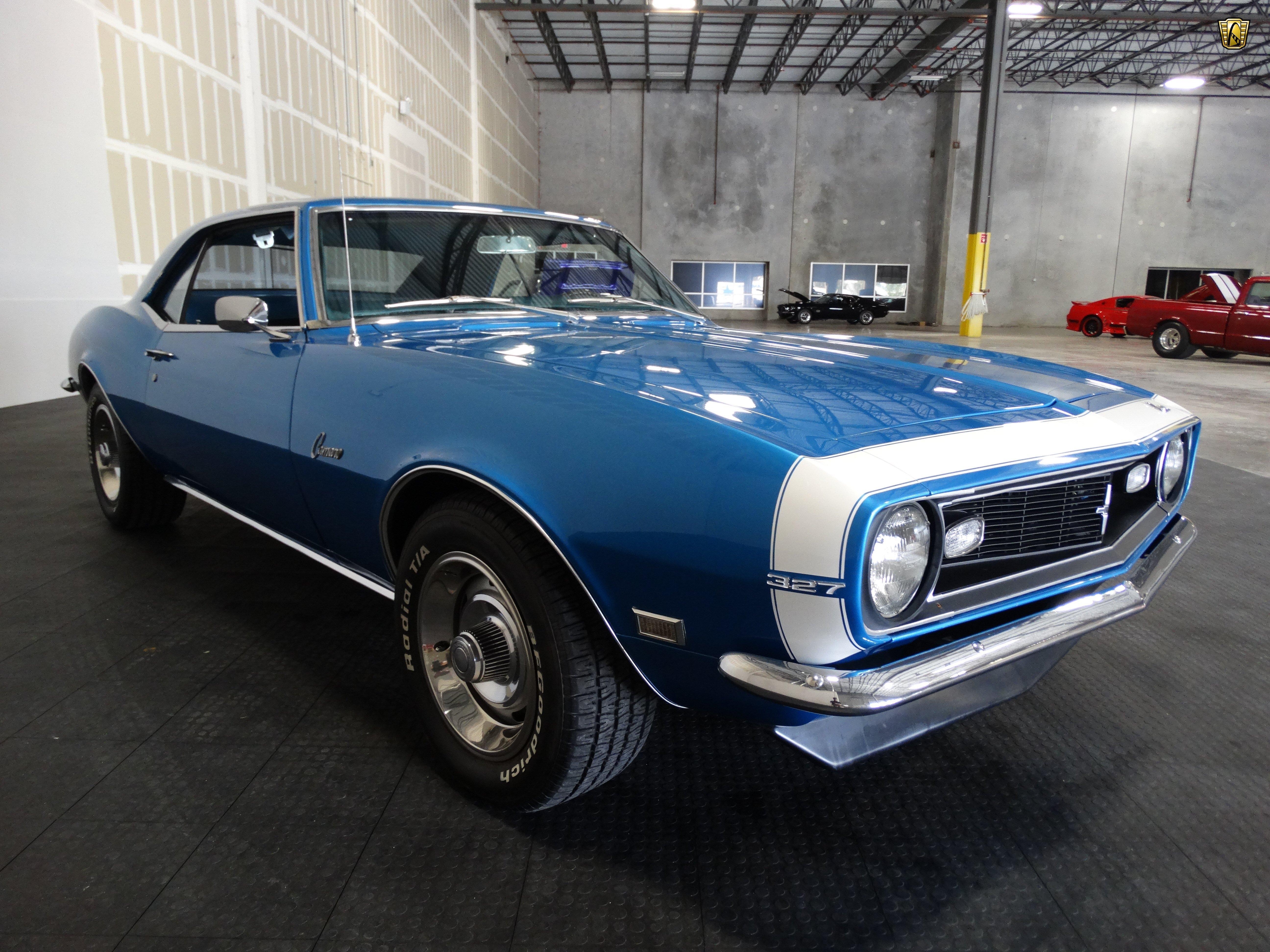 1968 Chevrolet Camaro 327 Blue Cars Wallpaper 5184x3888 844377 Wallpaperup