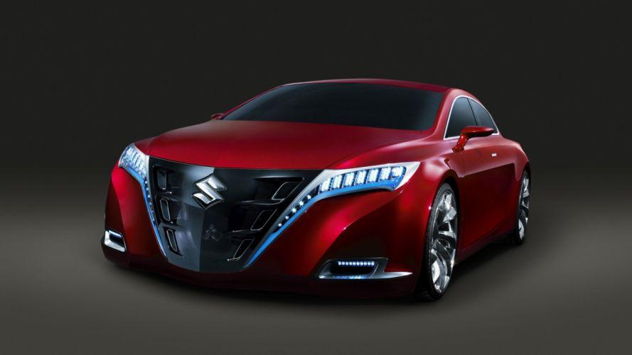 coche suzuki rojo lujo confort wallpaper