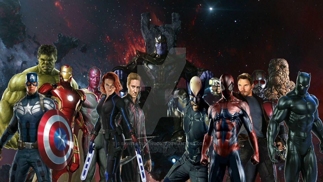 AVENGERS INFINITY WAR marvel superhero action fighting warrior sci-fi 1aiw wallpaper