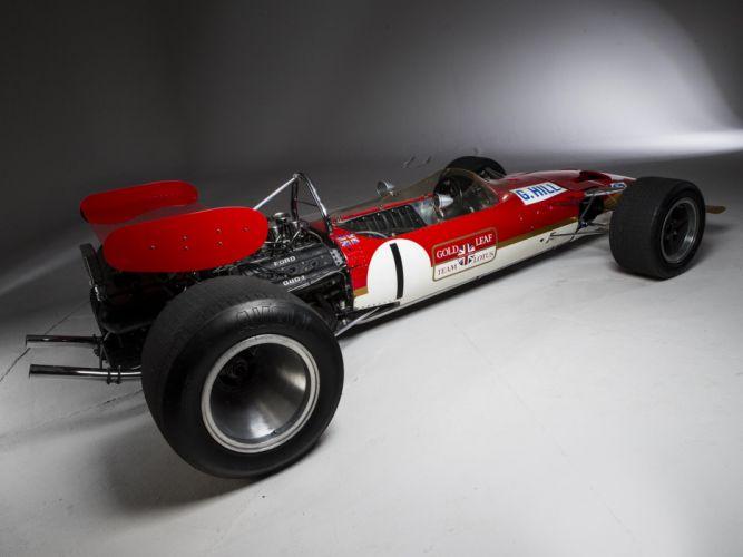 1968-70 Lotus 49B formula f-1 race racing wallpaper