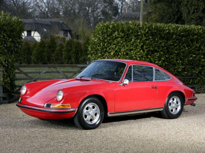 1971 Porsche 911 T Coupe US-spec classic wallpaper