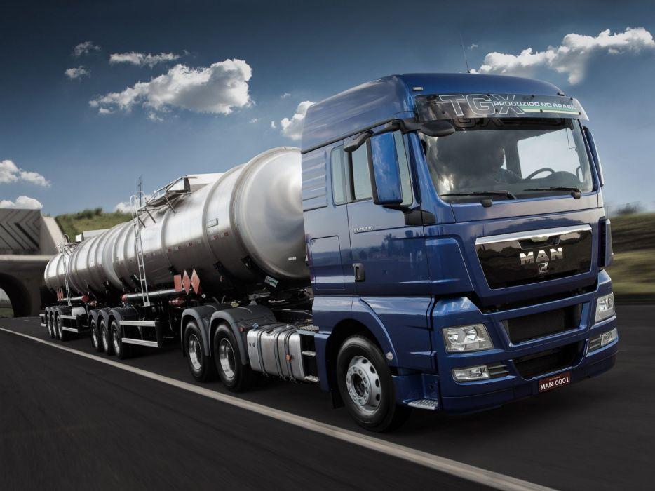 2012 MAN TGX 2-9 440 semi tractor truck wallpaper