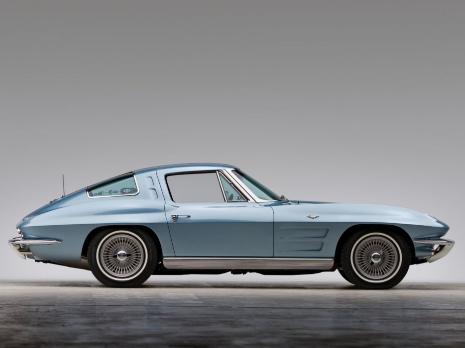 1963 Chevrolet Corvette Sting Ray L75 327 300HP Sport Coupe stingray classic muscle supercar wallpaper