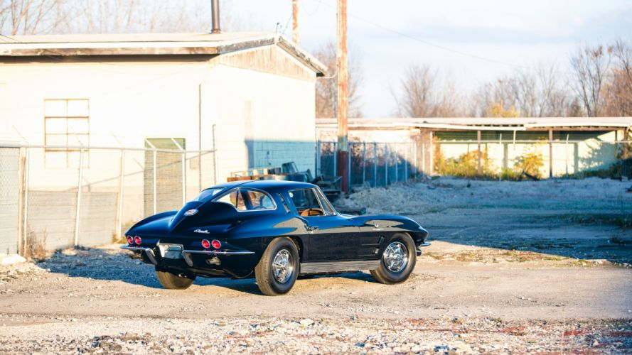 1963 Chevrolet Corvette Sting Ray Z06 Sport Coupe stingray muscle classic wallpaper