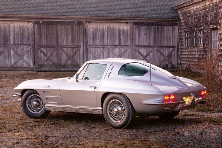 1963 Chevrolet Corvette Sting Ray Z06 Sport Coupe stingray muscle classic wallpaper