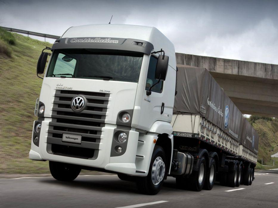 2011 Volkswagen Constellation Tractor semi truck wallpaper
