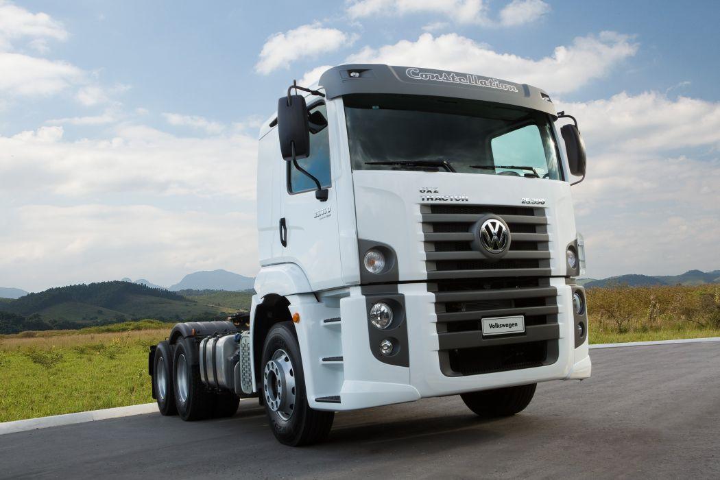 2011 Volkswagen Constellation Tractor 25-390 semi truck wallpaper