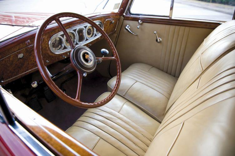 1935 Packard Twelve Convertible Sedan by Dietrich 1208-873 luxury retro vintage wallpaper