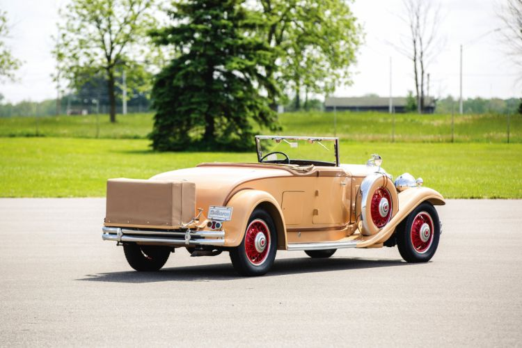 1931 Packard Deluxe Eight Convertible Coupe LeBaron 845 luxury retro vintage wallpaper