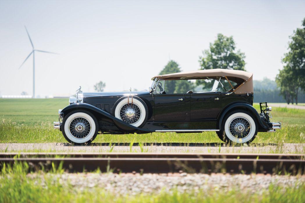 1930 Packard Deluxe Eight Sport Phaeton 745-451 luxury retro vintage wallpaper