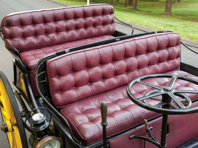 1896 Armstrong Electric Phaeton vintage retro luxury wallpaper