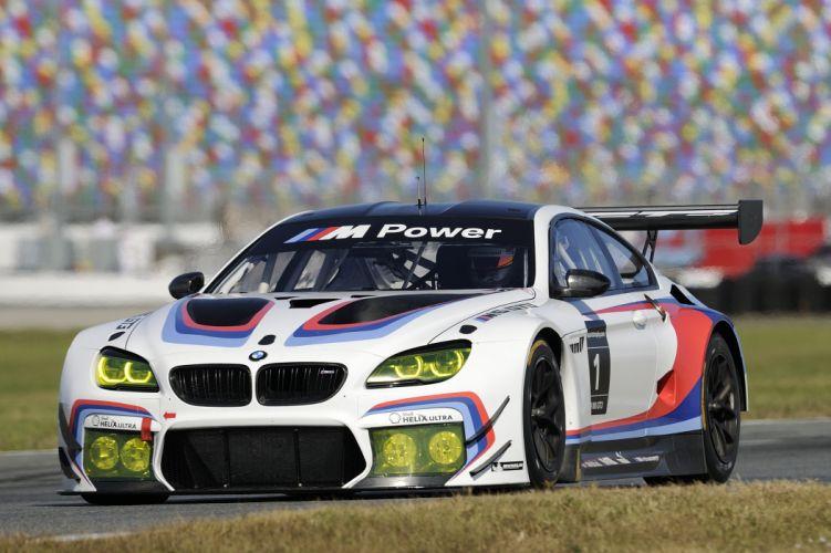 2015 BMW M-6 GT3 F13 race racing rally lemans le-mans wallpaper