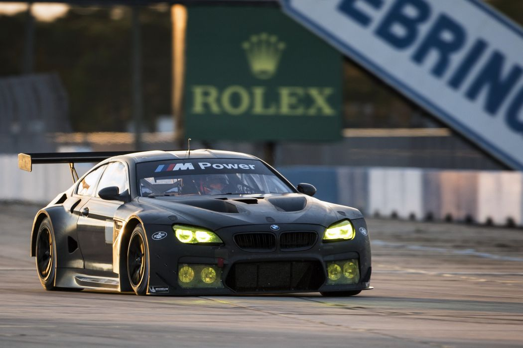 2015 BMW M-6 GTLM Test Car F13 race racing lemans le-mans rally wallpaper