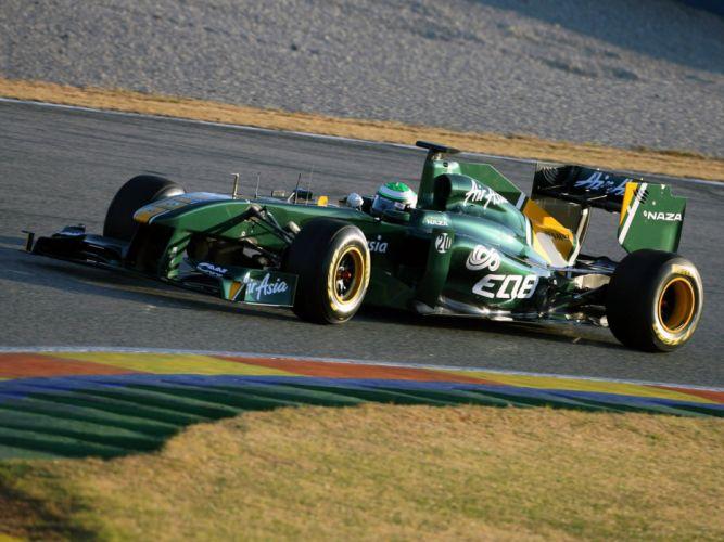 2011 Lotus T128 F-1 formula race racing wallpaper