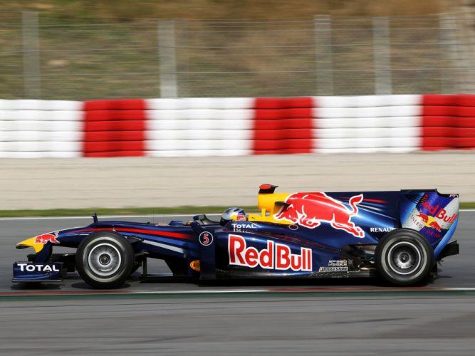 2010 Red Bull RB6 F-1 formula race racing wallpaper