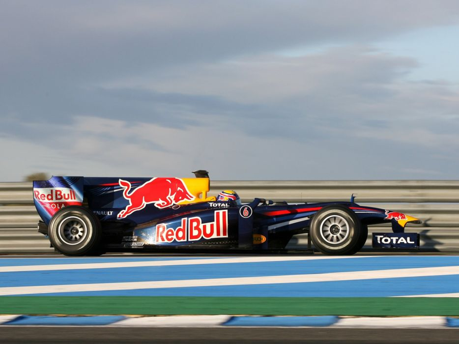 2010 Red Bull RB6 F-1 formula race racing wallpaper
