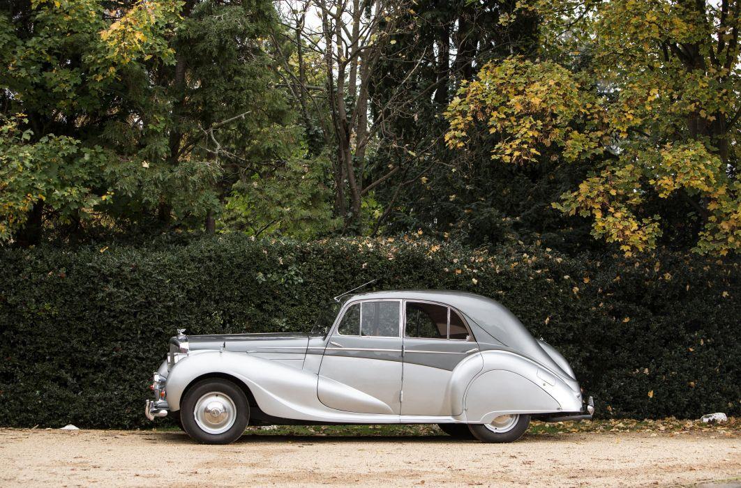 1947 Bentley Mark V-I Saloon Vanden Plas luxury retro wallpaper