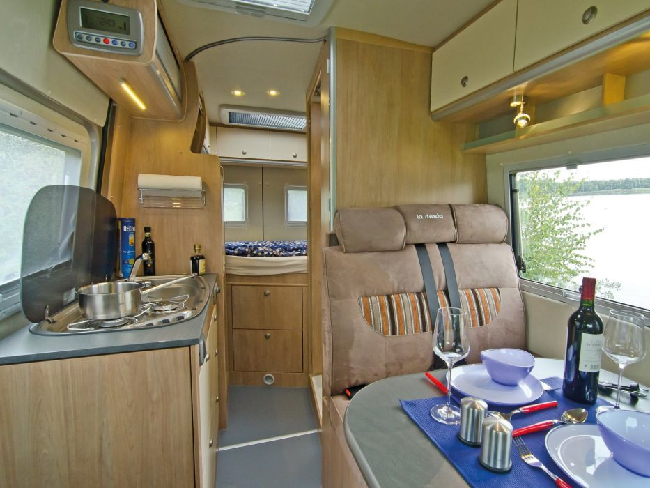 2015 La Strada Regent S 4x4 fiat motorhome camper van wallpaper