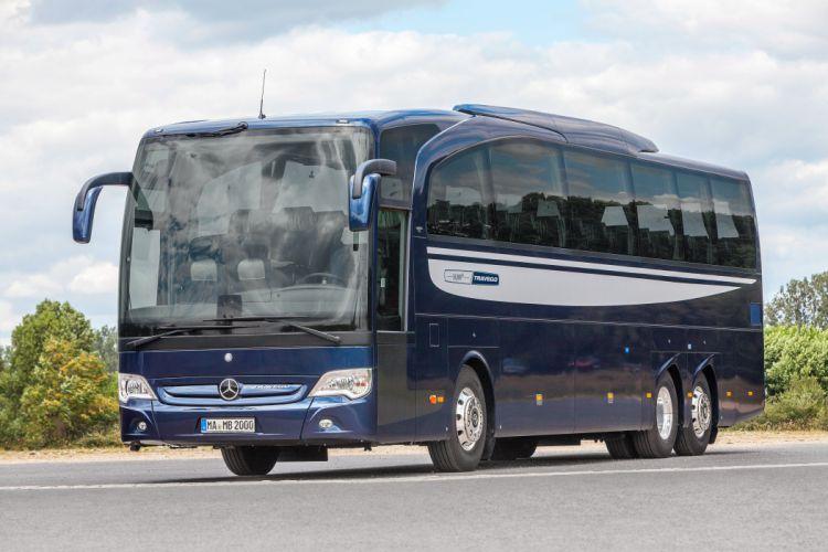 2014 Mercedes Benz Travego M O580 bus semi tractor transport wallpaper