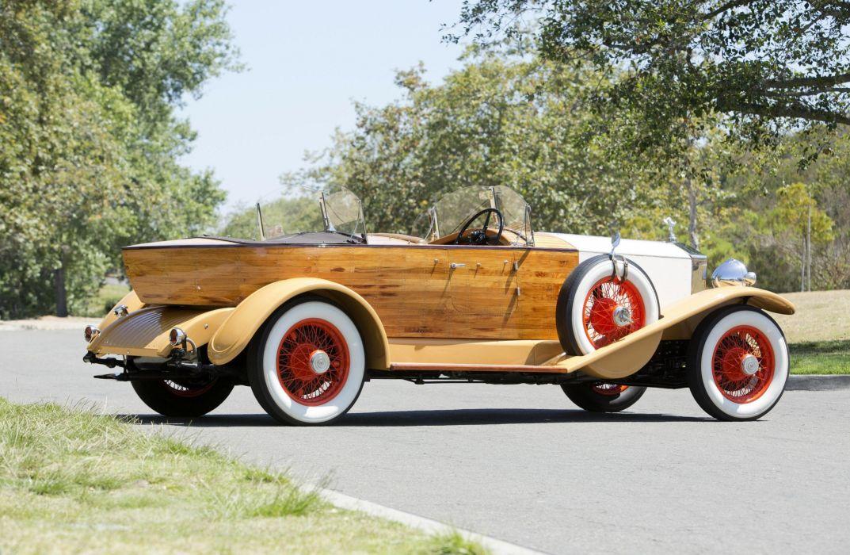 1932 Rolls Royce Phantom II 40-50HP Continental Boattail Tourer luxury vintage retro wallpaper