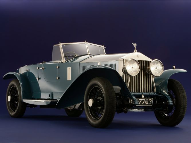 1928 Rolls Royce Phantom I Jarvis Torpedo supercar retro vintage race racing wallpaper