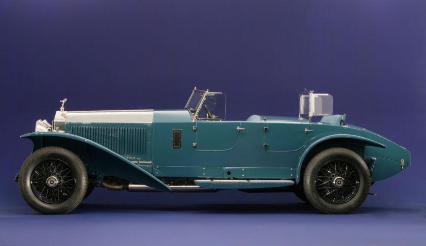 1928 Rolls Royce Phantom I Jarvis Torpedo supercar retro vintage race racing wallpaper
