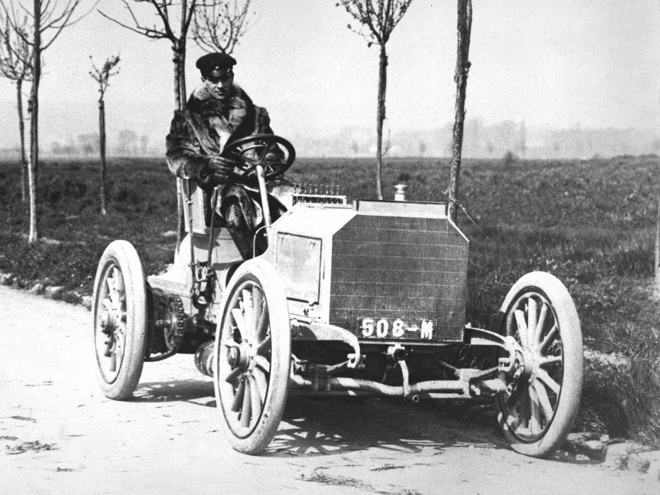 1902 Mercedes Simplex 40PS Rennwagen vintage retro race racing wallpaper