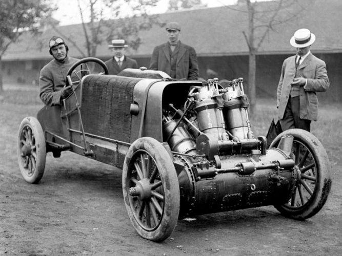 1907 Christie rally race racing retro vintage wallpaper
