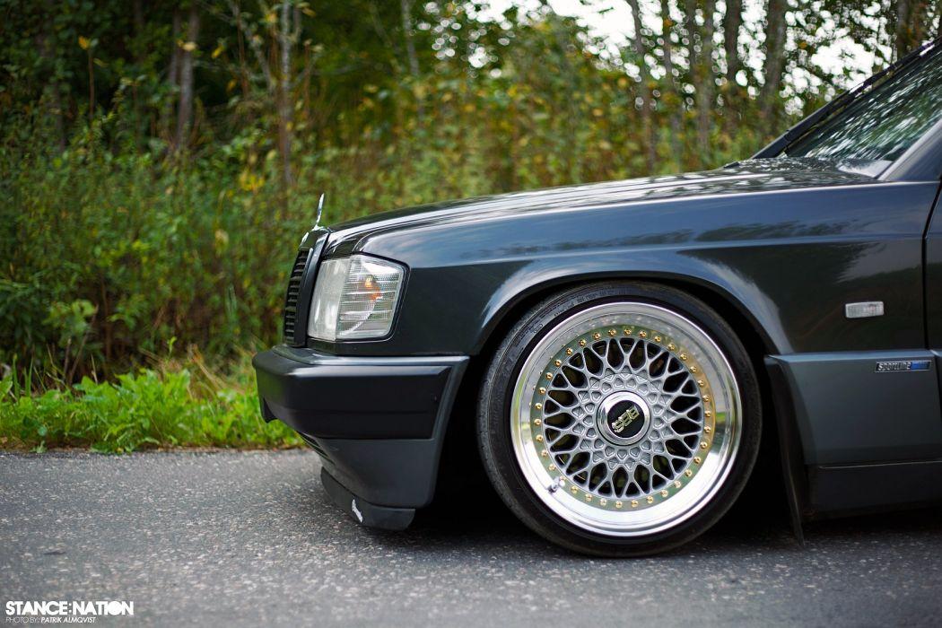 1991 Mercedes Benz W201 custom tuning wallpaper