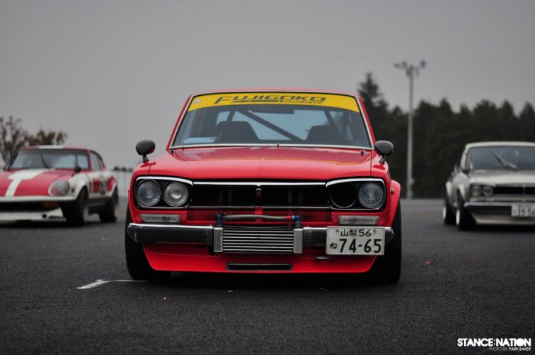 Nissan PGC10 Skyline custom tuning drift race racing datsun wallpaper