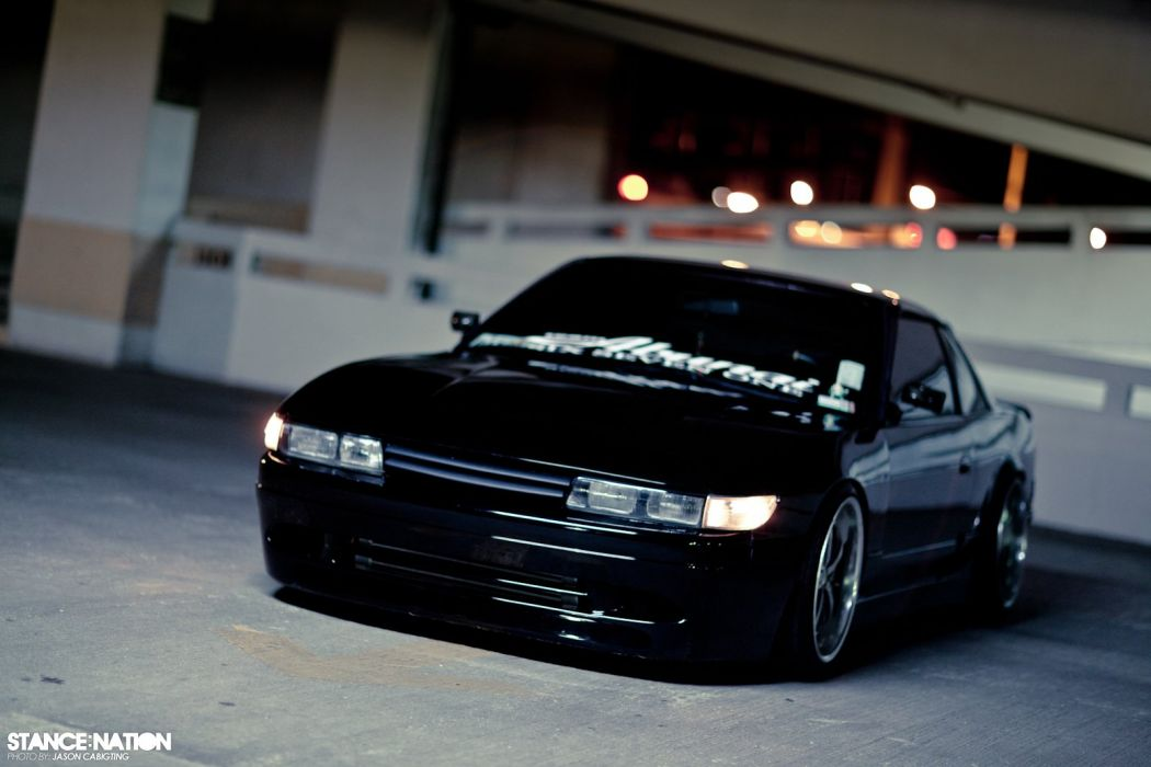1991 Nissan 240SX custom tuning wallpaper