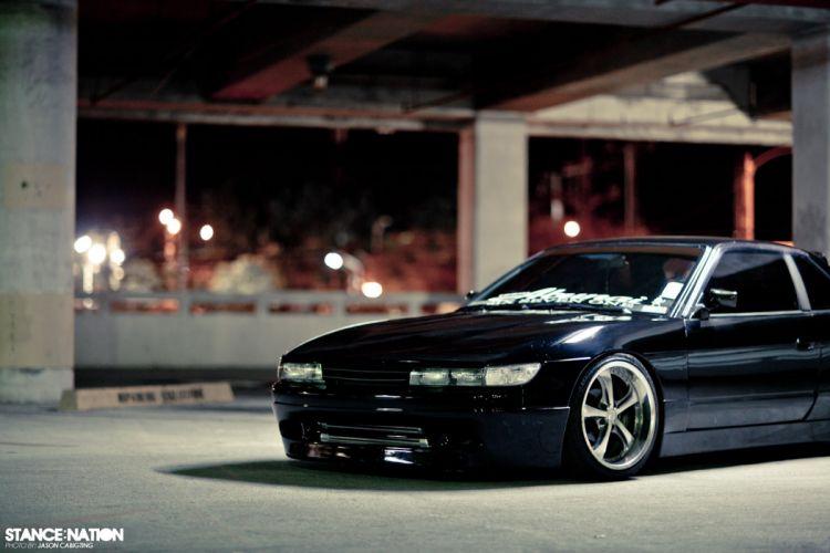 1991 Nissan 240SX custom tuning wallpaper