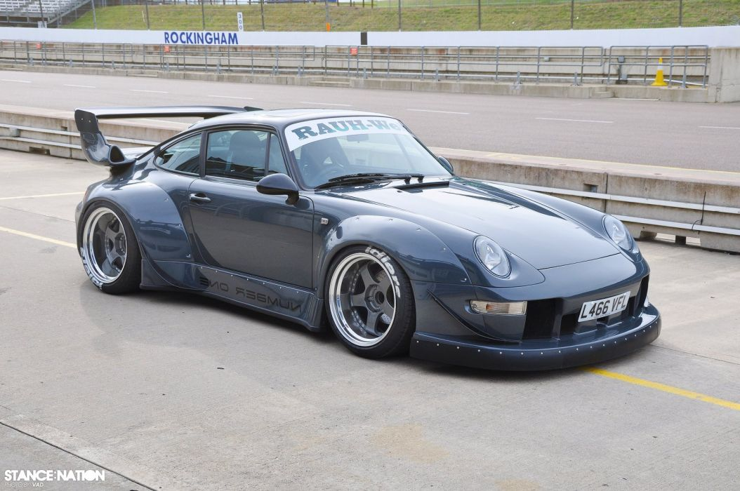 Porsche 964 Turbo custom tuning supercar race racing wallpaper