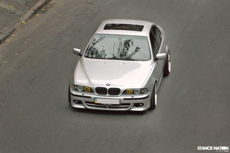 BMW E39 M-5 custom tuning wallpaper