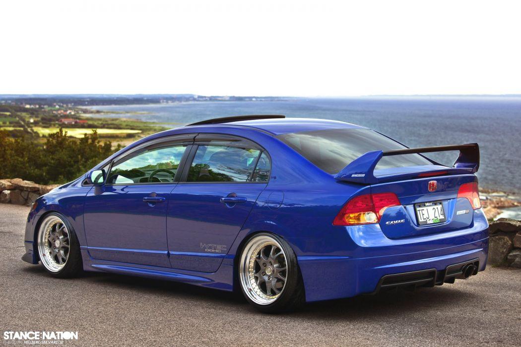 Mugen Honda Civic Si Custom Tuning Wallpaper