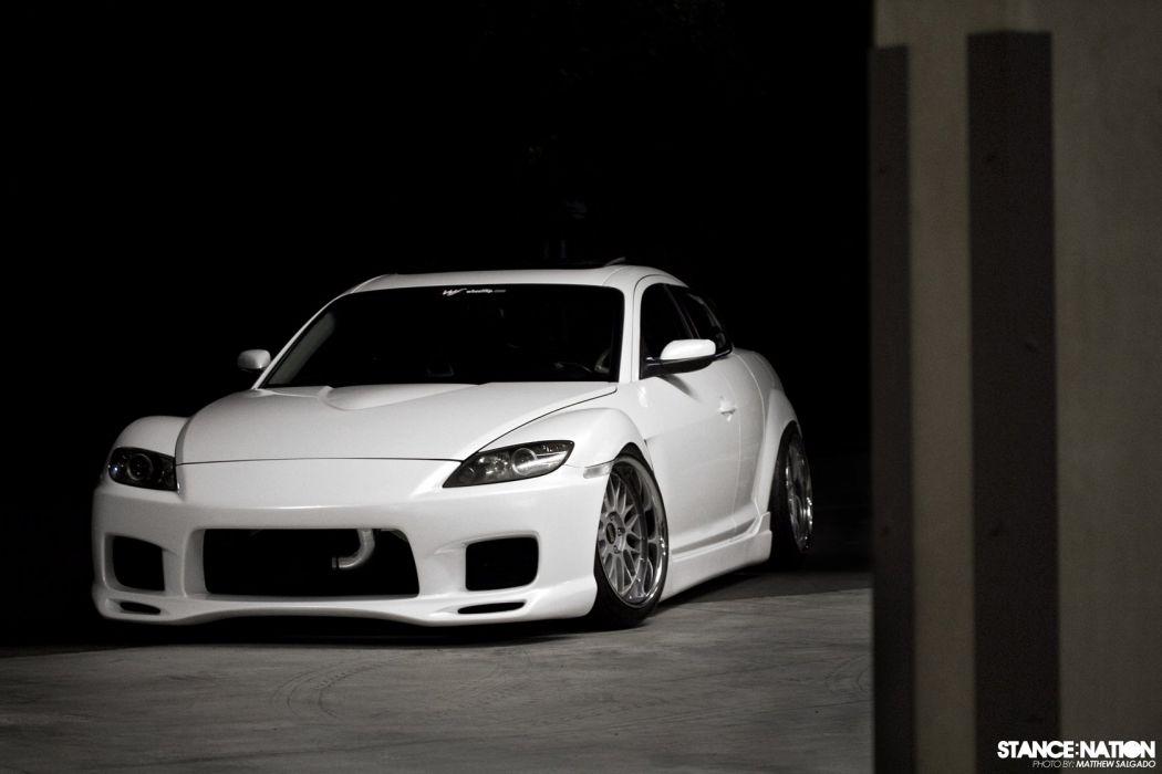 Mazda RX8 custom tuning wallpaper