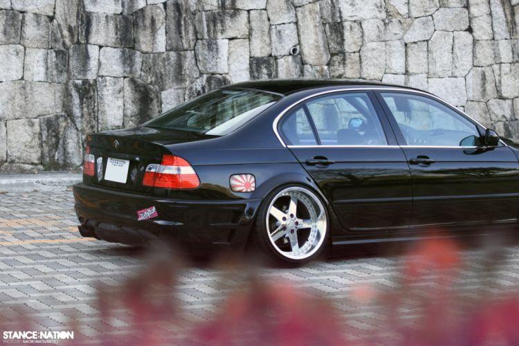 BMW E46 m-3 custom tuning wallpaper