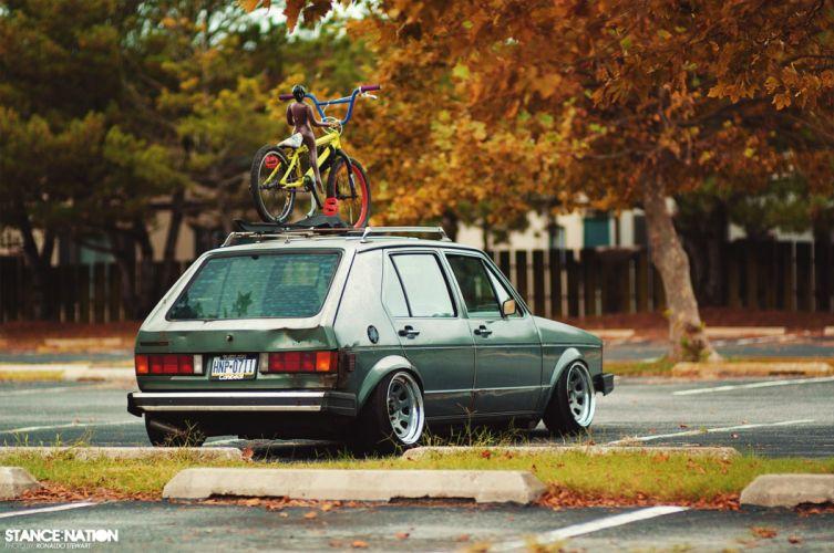 1982 Volkswagen Rabbit custom tuning wallpaper