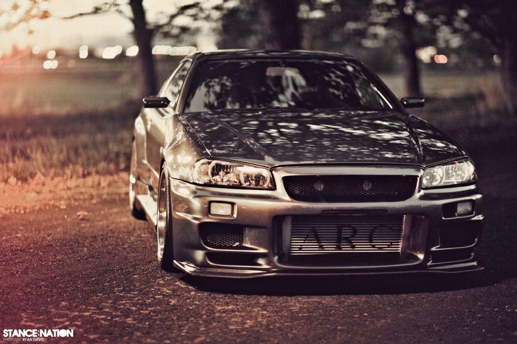 R34 Nissan Skyline Gt R Custom Tuning Wallpaper 1680x1120 845956 Wallpaperup
